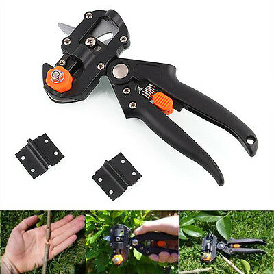 Fruit Tree Professional Pruning Shears Grafting cutting Tool With 2 Extra Blades