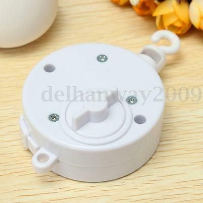 Rotary Mobile Clockwork Movement Music Box For DIY Baby Bed Bedding Toy Decor