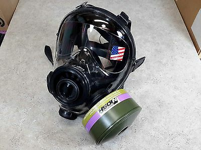 SGE 400/3 Gas Mask [40mm NATO] CBRN CAP1 Certified Filter Highest NBC Protection