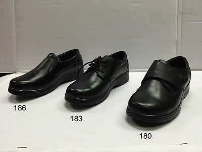 Women S Black Restaurant Work Shoes Genuine Leather Slip Oil Resistant Wide
