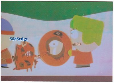 """1998 Comic Images South Park """"the Many Deaths Of Kenny"""" #omni 1 Foil Insert Card"""