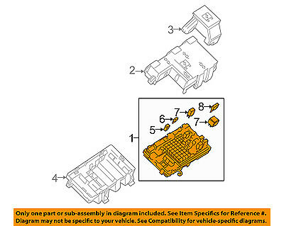 GM OEM Electrical Fuse Relay-Junction Block 25930729