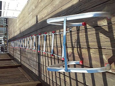 25' 3 Story Window Fire Escape Ladder with Anti Slip Rungs