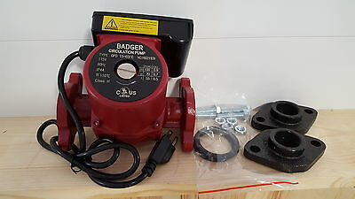 """20 GPM 3 speed Circulating Pump With 3/4"""" Cast Flange Set"""