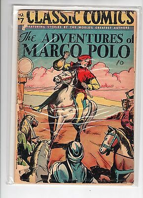 Classics Illustrated #27 HRN 30 GD- Homer Fleming, Adventures of Marco Polo