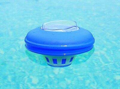 Pool Spa Floater Chemical Chlorine Dispenser Cleaner Water Swimming Hot Tub New