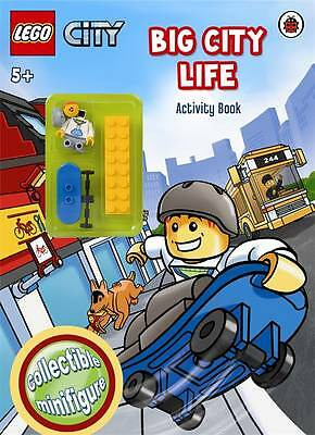 LEGO CITY: Big City Life Activity Book with Minifigure New