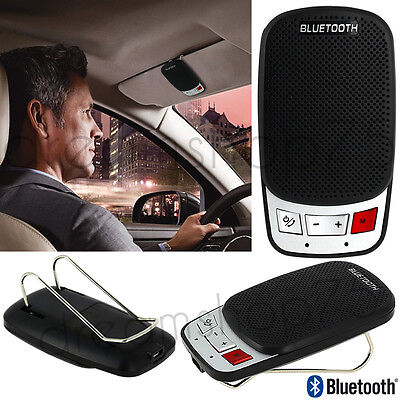 Kit Mains Libres Bluetooth Voiture Speaker G2 Pour Iphone, Samsung, Nokia, Sony