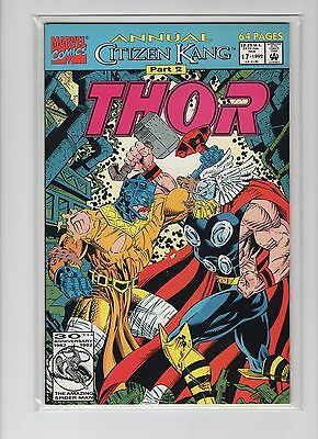 Thor Annual #17 NM Pacella, Panosian, Avengers, Immortus, Spider-Man