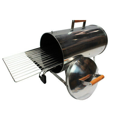 New Muurikka Stainless Steel Electric Portable Smoker, Roaster, and Grill