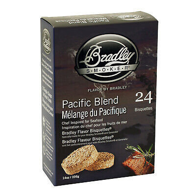 New Bradley Pacific Blend Bisquettes 24 Pack