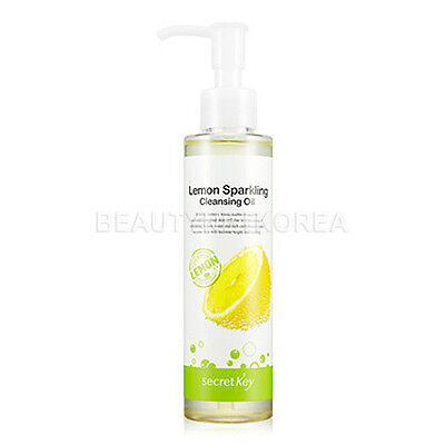 [SECRET KEY] Lemon Sparkling Cleansing Oil 150ml / Korea cosemtic