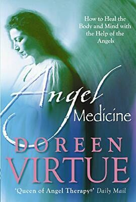 Angel Medicine by Virtue PhD, Doreen Paperback Book The Cheap Fast Free Post