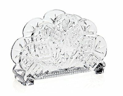 Godinger Dublin Standing Napkin Holder (25656)Crafted of quality crystal materia