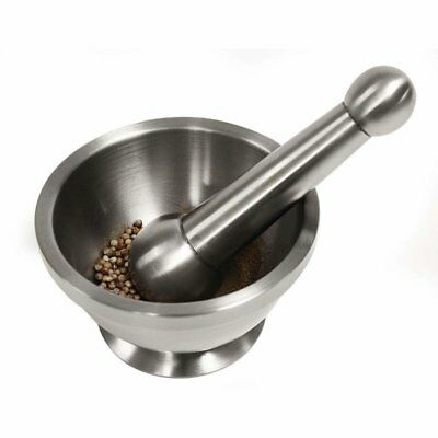 Chef's Secret Maxam Stainless Steel Mortar and Pestle