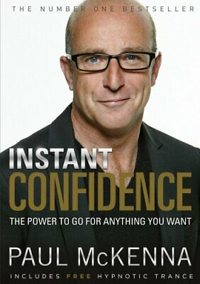 Instant Confidence by McKenna, Paul Paperback Book The Cheap Fast Free Post