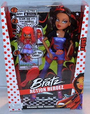 Bratz Action Heroez Shira Doll Collectible Accessories & Mini Included Brats