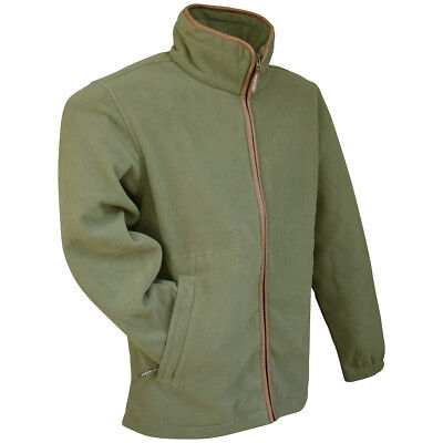 JACK PYKE WEARDALE GREEN KNITTED JACKET MENS S-3XL THERMAL KNIT FLEECE HUNTING