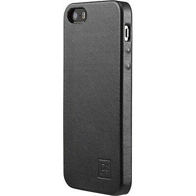 Platinum - Leather Case for Apple® iPhone® 5 and 5s - Black