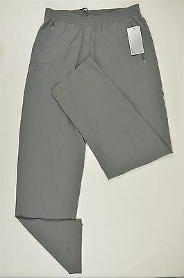 MENS WARM UP Pants, Resists Wind / Water, Lined, Quiet, Pockets, Zip