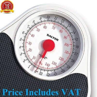 Salter 145 DOCTORS Style Mechanical Bathroom Scales Scale LARGE DIAL