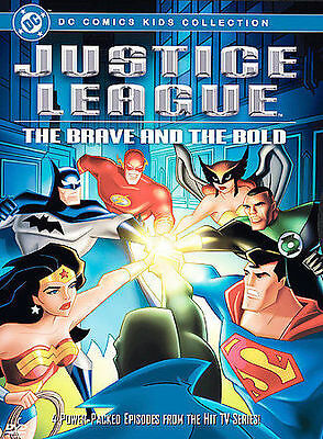 Justice League - The Brave and the Bold (DVD, 2004) Disc Only Movie! Free Ship