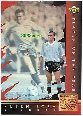 1994 Upper Deck Player Of The Year Hologram: Ruben Sosa #wc7 World Cup Uruguay