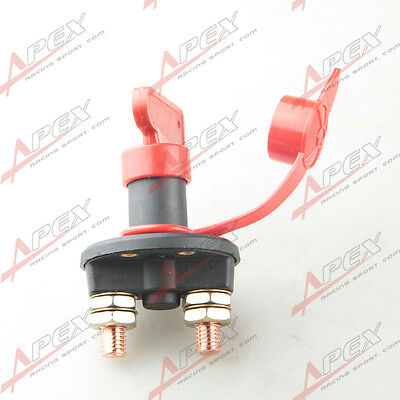 Car Auto Side Post Battery Master Disconnect Cut Off Switch Gw