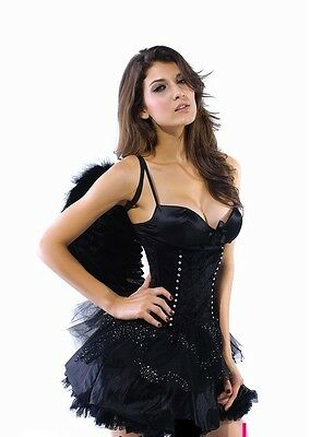 Deguisement Dark Angel : 2  Pieces -Taille Unique - Neuf-Costume Fancy