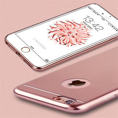 Luxury Ultra Slim Soft Silicone TPU Case Cover For Apple iPhone 5 SE 6 6s Plus