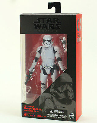 """Star Wars The Black Series First Order Stormtrooper 6"""" Action Figure"""