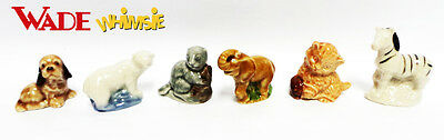 Wade Set of Six Animal Whimsies - Special Offer £10 the set