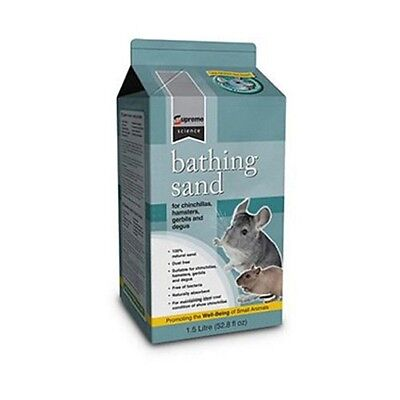 Bathing Sand chinchillas degus hamsters gerbils Mice Small Animals 100% natural