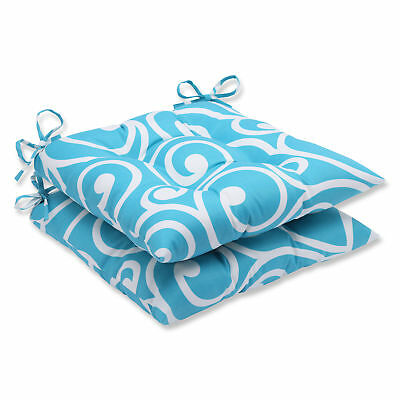 Pillow Perfect Best Outdoor Dining Chair Cushion Set of 2