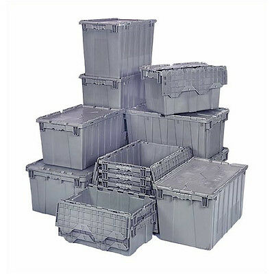 Quantum Storage 18.25 Gallon Heavy Duty Attached Top Storage Container