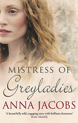 Mistress of Greyladies by Anna Jacobs (Paperback) New Book