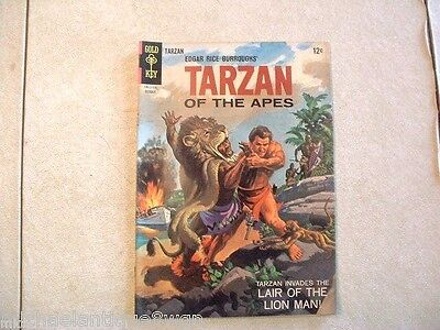 12c 1965 Gold Key #153 Tarzan Of The Apes High Grade Silver Age Comic