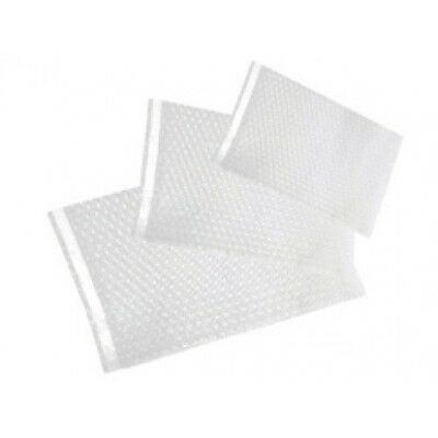 250 New 6 X 8.5 Clear Bubble Out  Bags