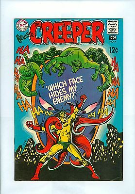Beware The Creeper #4 FNVF Ditko, Giordano, Proteus