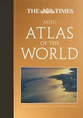 The Times Mini Atlas of the World by Times Hardback Book The Cheap Fast Free