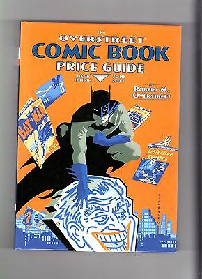 Overstreet Comic Book Price Guide #40 (2010) HC NM/NM+ Batman Cover