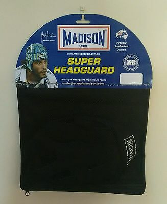 Madison Sport Super Headguard Size Small Brand New IRB Approved Football