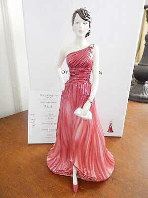 Royal Doulton Pretty Ladies PAULA Figurine #HN5721 - NEW / BOX!