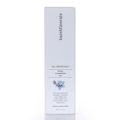 BareMinerals Skinsorials Oil Obsessed Total Cleansing Oil 6oz/180ml NEW IN BOX