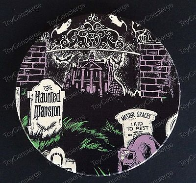 DISNEY Parks COASTER - THE HAUNTED MANSION Attraction Poster NEW