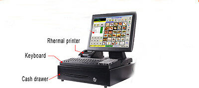 "15"" All in one Touch Pos System Retail Point Of Sale"