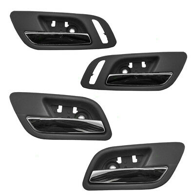 GMC Cadillac Chevy Pickup Truck 4 Pc Set of Inside Chrome & Cashmere Door Handle
