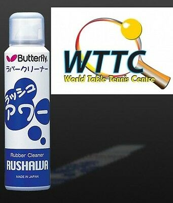 Butterfly Rubber Cleaner RUSHAWA 165ml Made in Japan