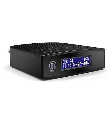 majority abbey dab digital fm radio alarm clock with usb. Black Bedroom Furniture Sets. Home Design Ideas