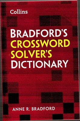 Collins Bradford's Crossword Solver's Dictionary - New Paperback Book